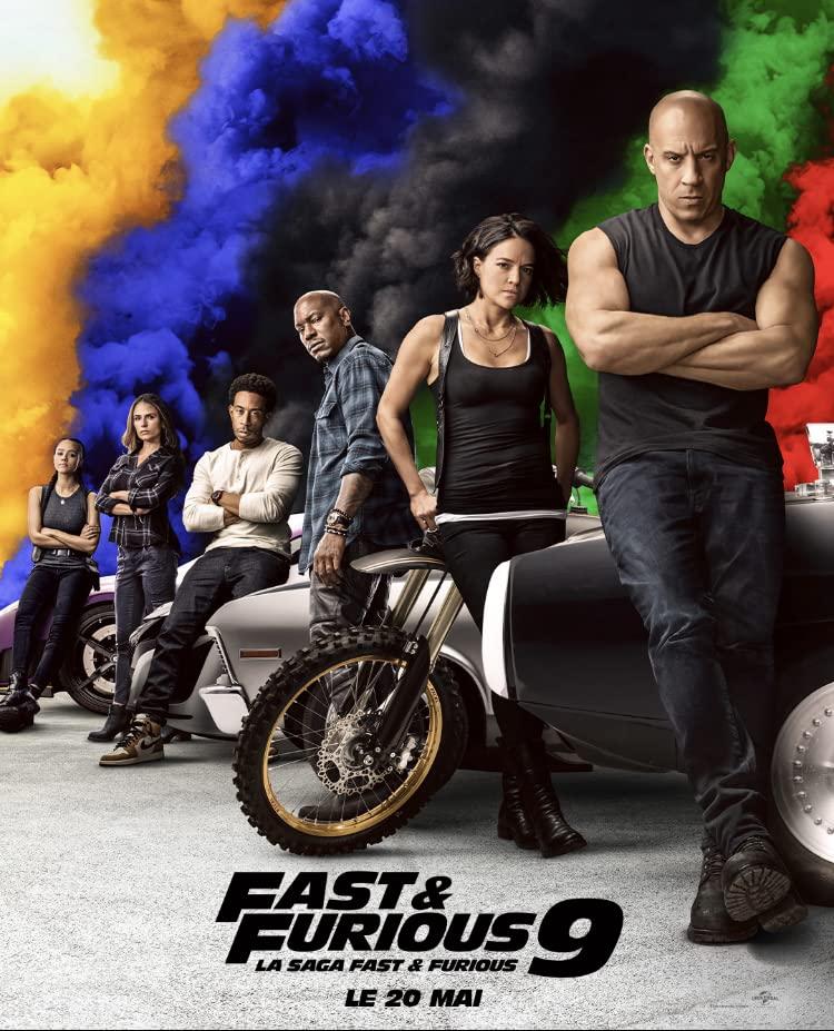 Fast and Furious F9 The Fast Saga (2021) เร็ว แรงทะลุนรก 9