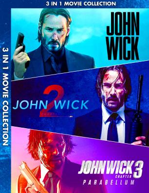จอห์นวิค แรงกว่านรก ภาค 1-3